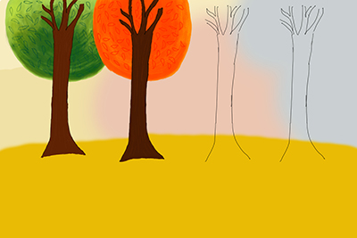 临摹插画-手绘板