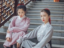 【汉服】玉轮月/玉桂月圆领袍