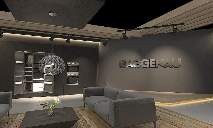 gaggenau家具展厅 成都展厅装修 成都展厅设计