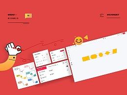 「mockingbot」墨刀 設計師工具界面/交互設計