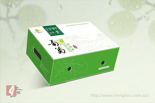 北京红楼水果包装盒设计作品