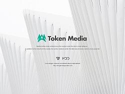 Token Media.  比特币自媒体社区 . Web Design .