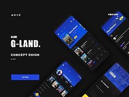 G-Land主机游戏社区设计