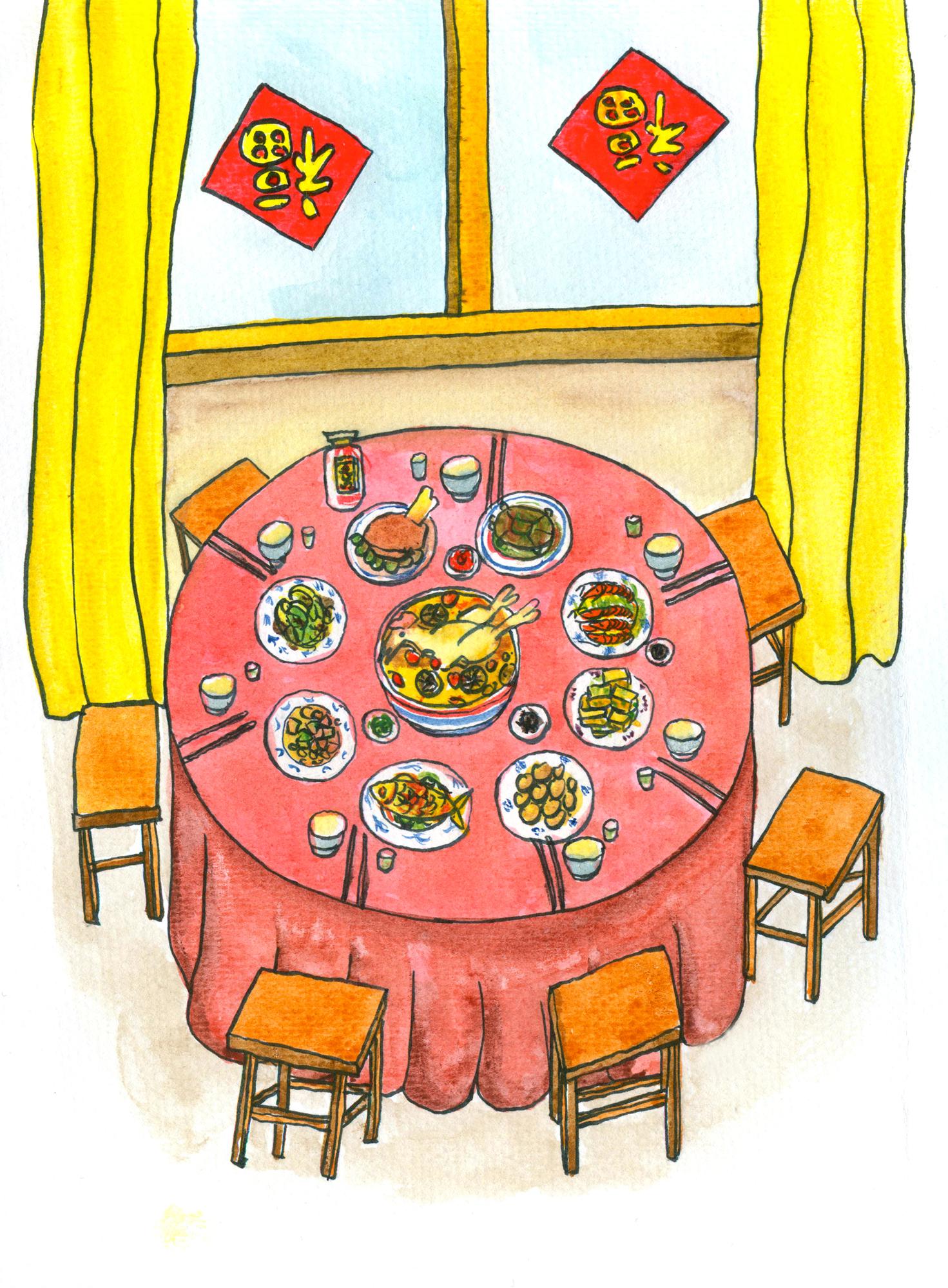 春节 团圆饭