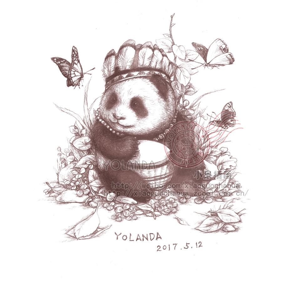 森系铅笔绘画——神奇动物园(二)
