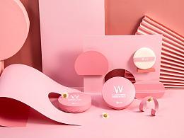 wlab粉饼 卸妆膏拍摄 化妆品护肤品拍摄 产品摄影