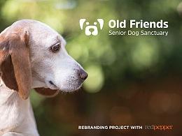 Old Friends Senior Dog Sanctuary Branding