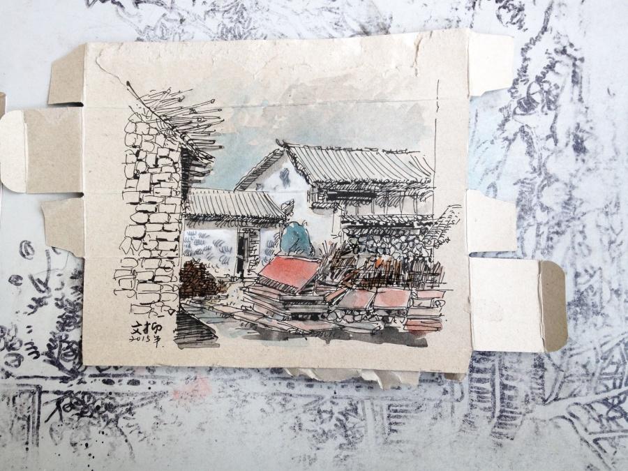 查看《捡捡垃圾,画点小画》原图,原图尺寸:3234x2425