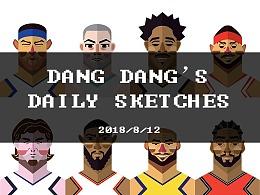 当当的日常手绘练习【2018.8.12】