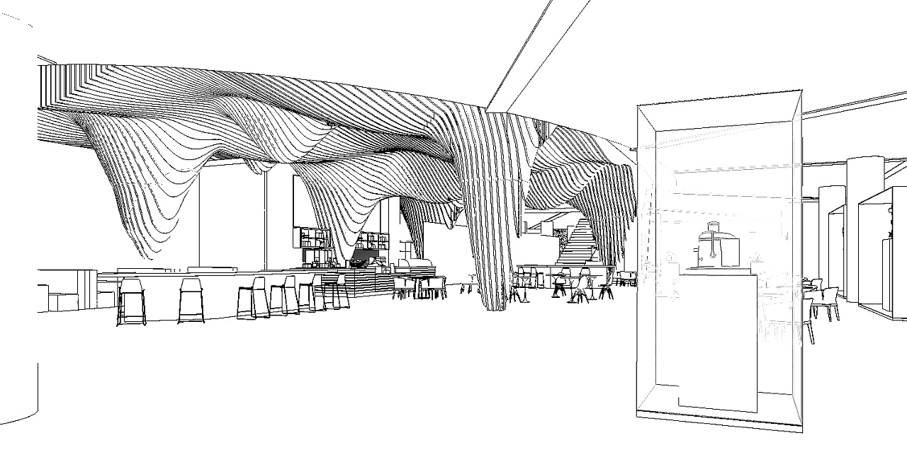 展厅空间手绘图片欣赏