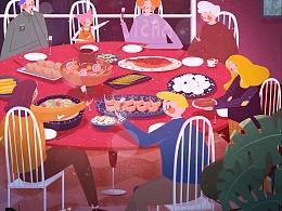 《阖家团圆》年夜饭