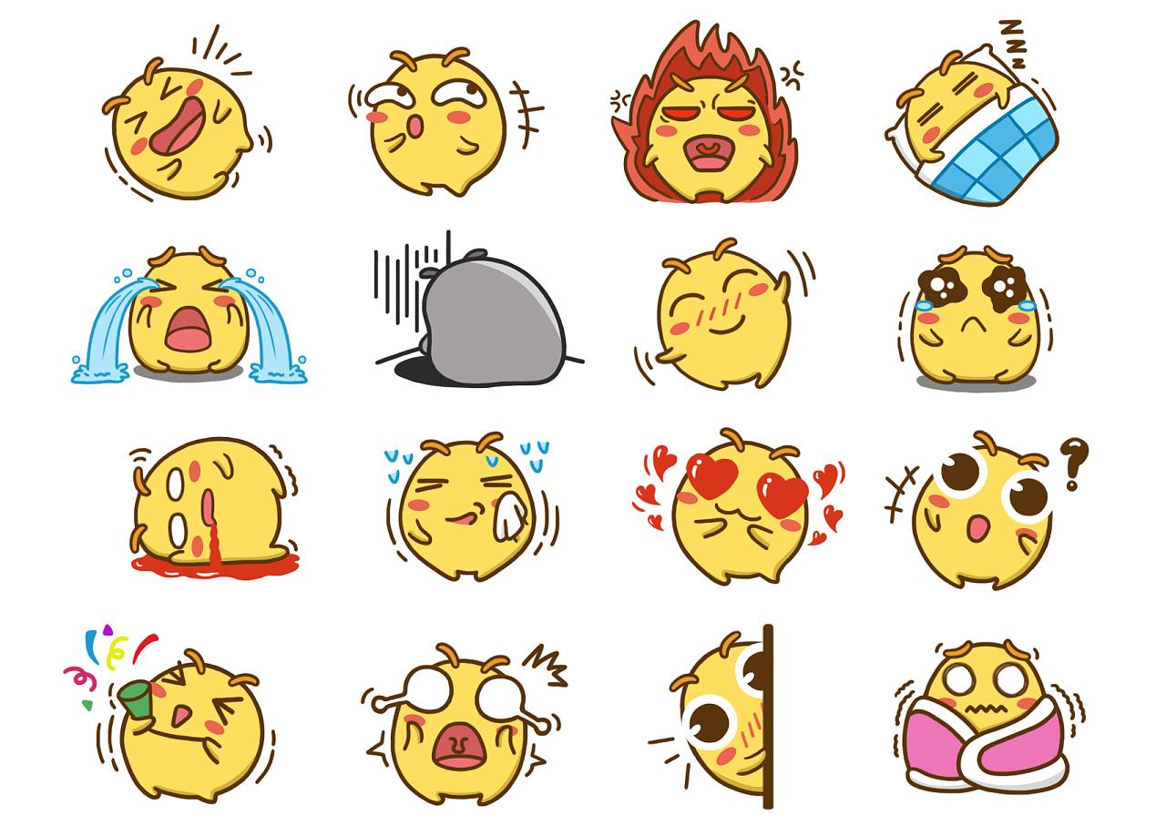 表情包设计|平面|吉祥物|hongfangzhou - 原创作品图片