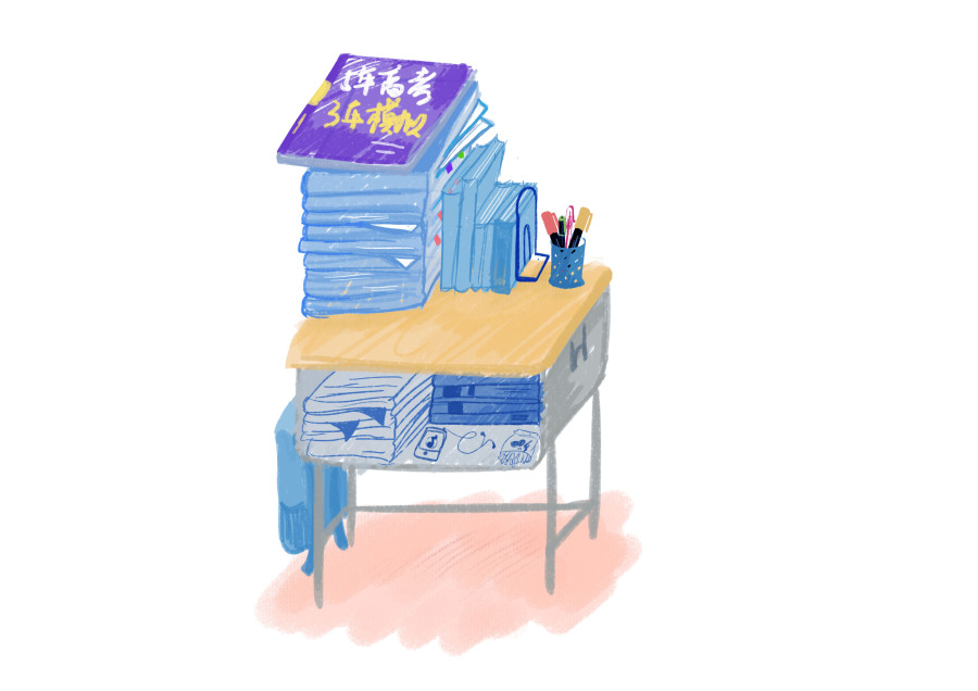 第一次发苹果|绘画习作|插画|an作品-原创设计培训小学教师济南图片