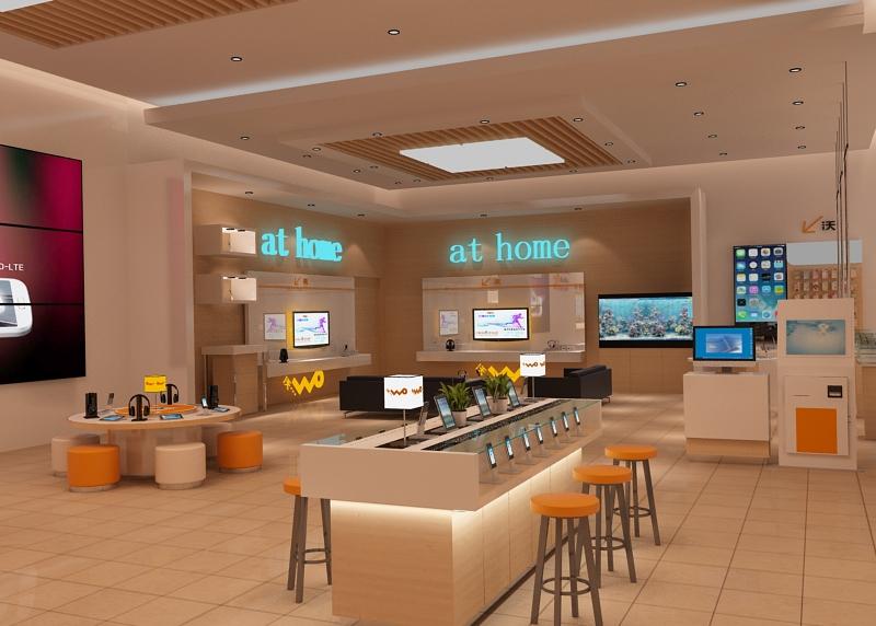 聯通營業廳|展示/櫥窗/店面設計|空間/建筑|等風來h