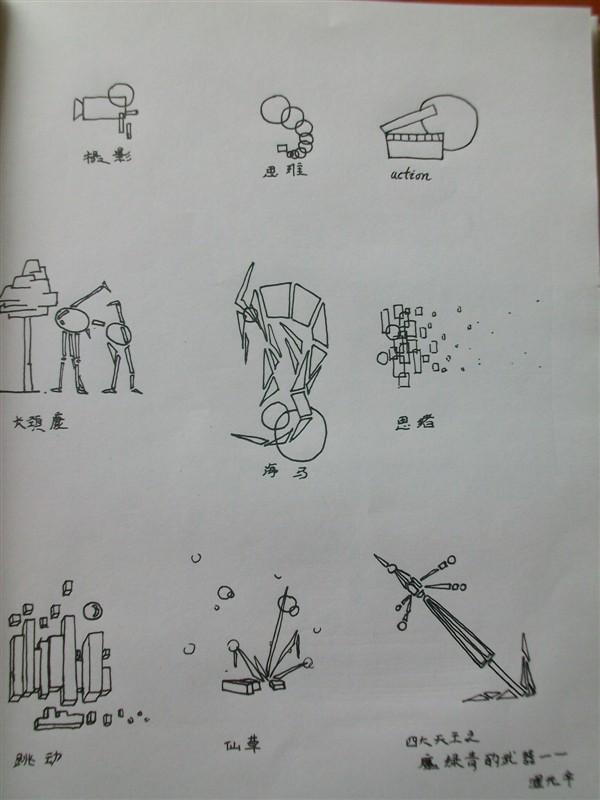 手绘速写|绘画习作|插画|毒蜘蛛