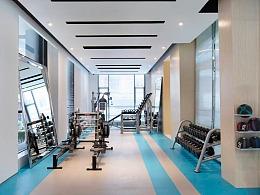 固原健身房设计公司_固原健身房设计MISS健身房设计