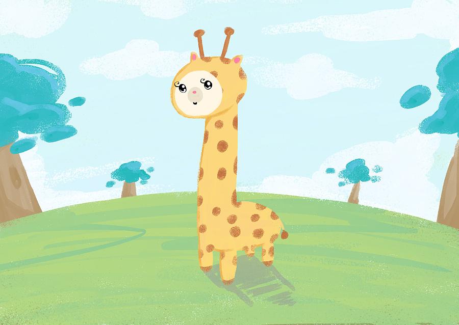 《我的动物园》|绘画习作|插画|lovecangtian