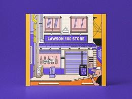 《街边店铺》系列插画练习