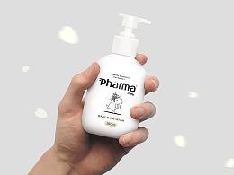 《Pharma珐玛宝贝》婴幼儿护理品牌设计 婴儿洗护