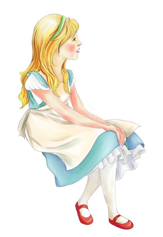 ps绘画联系|儿童插画|插画|白羊半城
