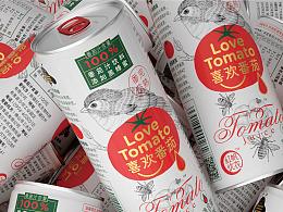 """喜欢番茄""包装解决方案 Love Tomato"