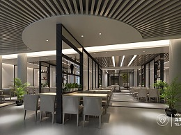 餐饮设计|简约创意餐厅设计|餐饮空间设计
