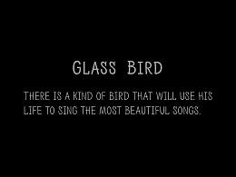 MotionGraphic.|<GlassBird> rion 前田香织作品