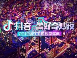 浙江卫视《抖音美好奇妙夜》片头