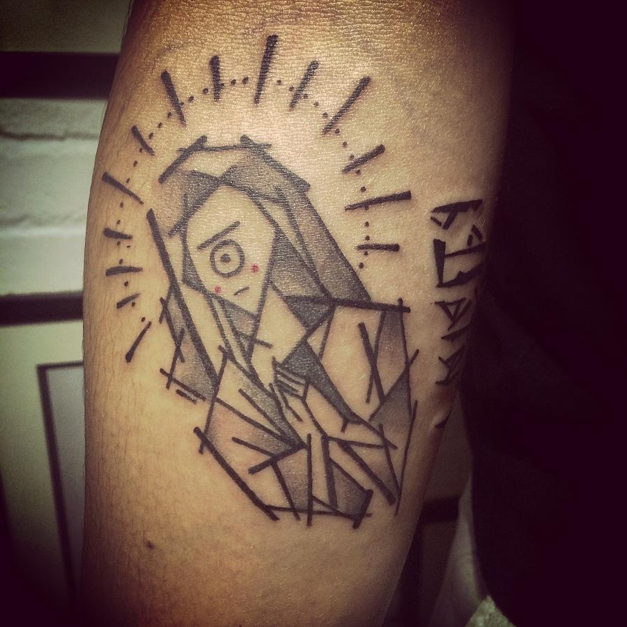 原创手绘 纹身图案设计|其他艺创|纯艺术|black