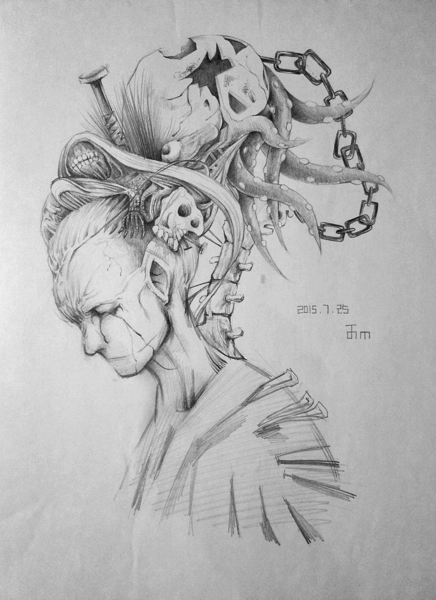 手绘简笔铅笔画唯美_铅笔手绘_铅笔手绘画法