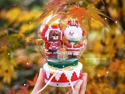 MARD拼豆原创-Linefriends圣诞水晶球