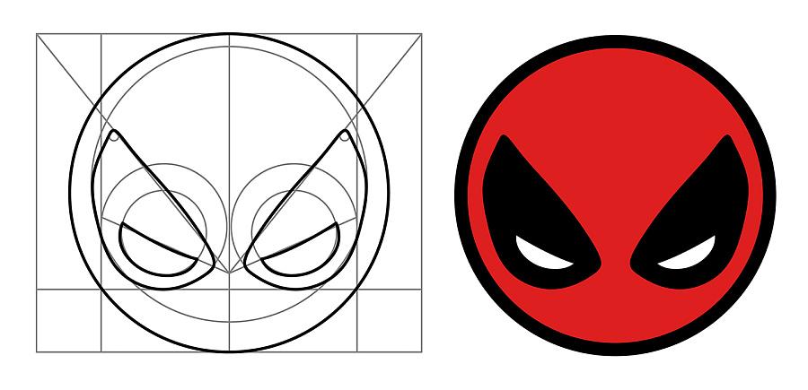 死侍icon设计|标志|平面|真伪