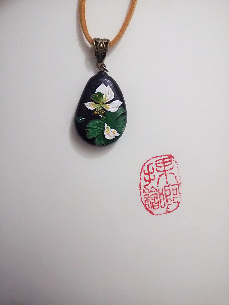 鹅卵石手绘
