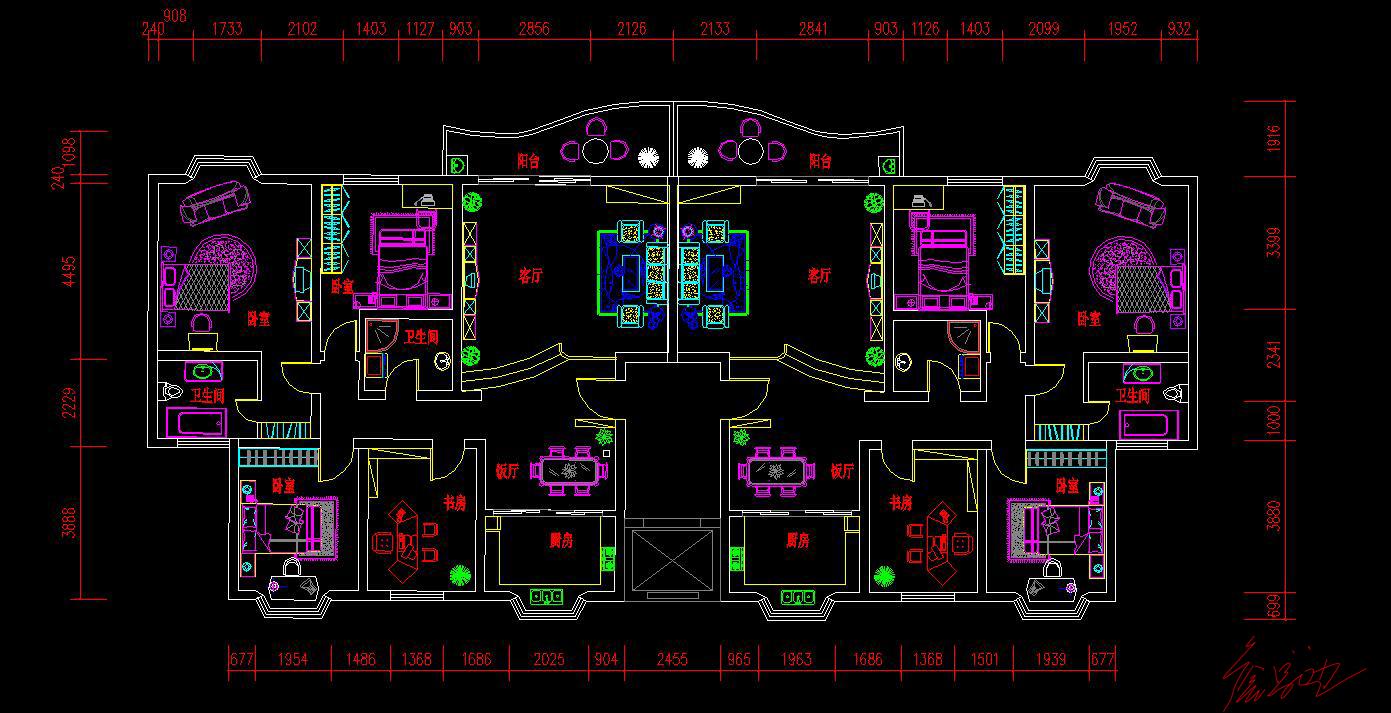 建筑施工平面图