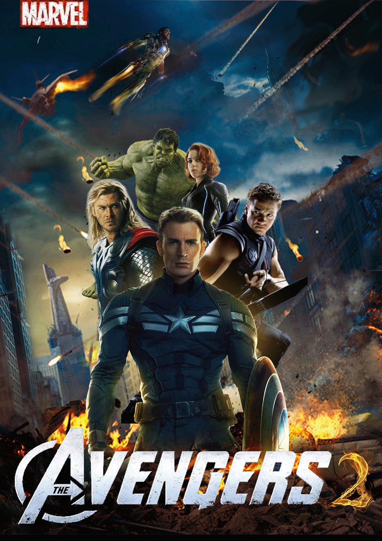 复仇者联盟电影海报