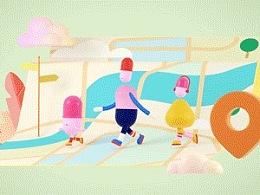 中国移动国际无忧行:跳进这支欢乐的动画MV,一起走啊走世界