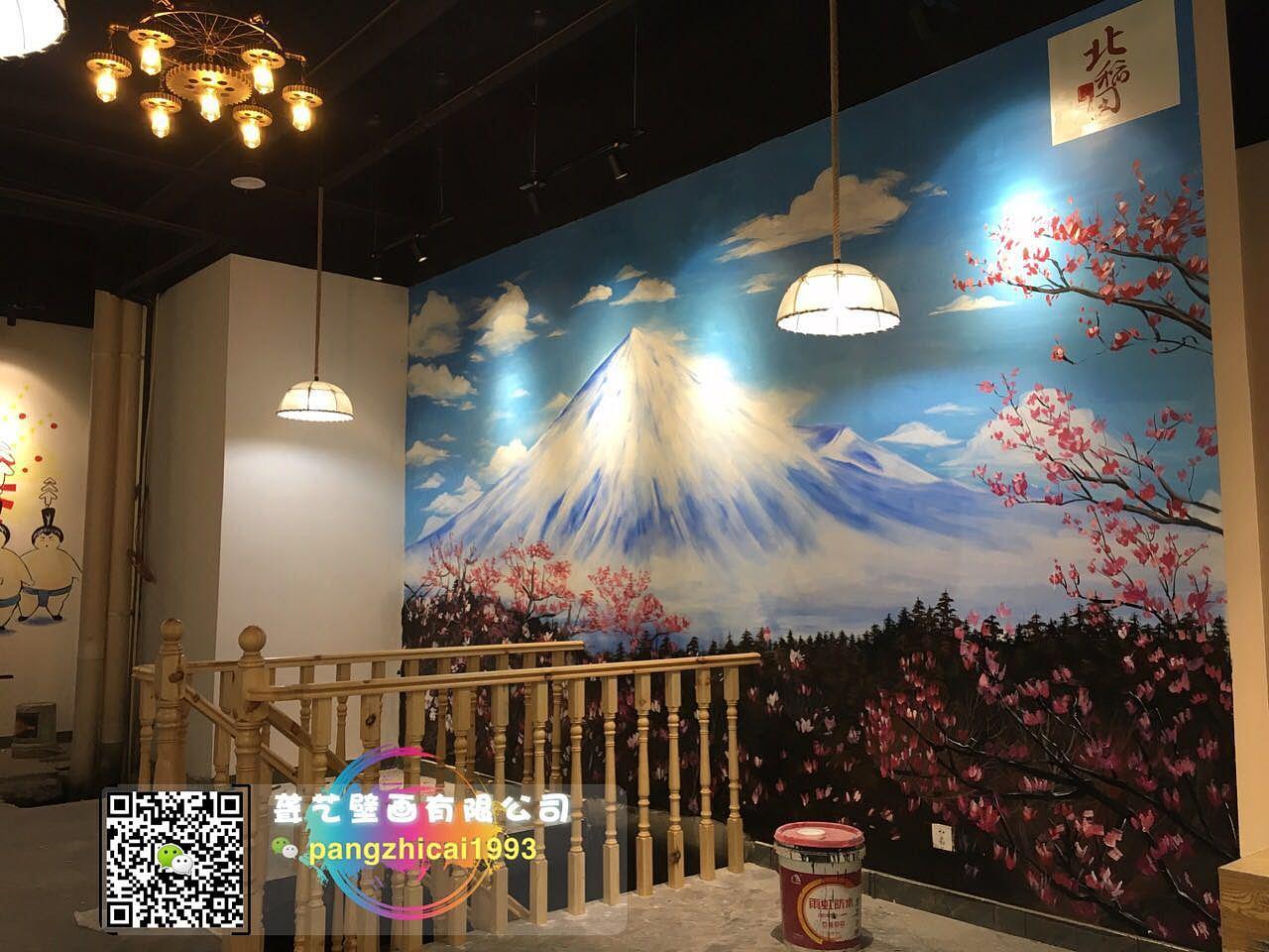 酒店墙绘作品