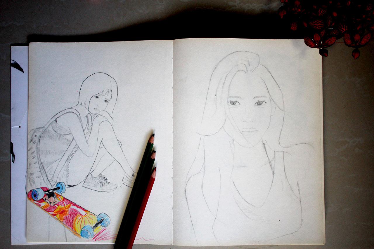 简易铅笔手绘