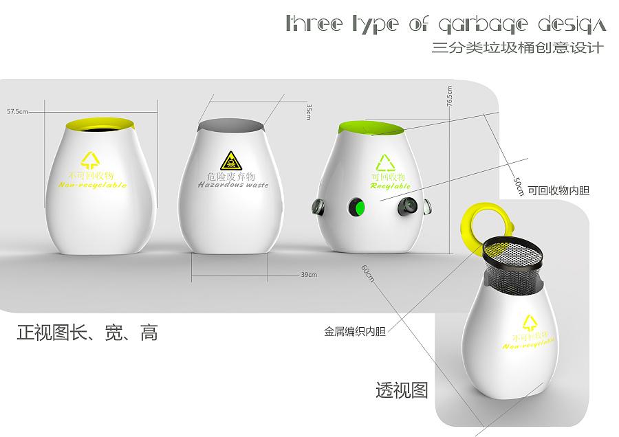 创意分类垃圾桶|生活用品|工业/产品|biangbiang007