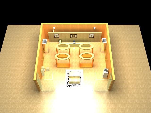 服装展厅|空间|室内设计|留白6637 - 原创作品 - 站酷图片