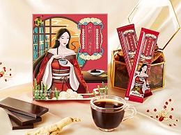 新派国风早餐五谷粉|百颐年|foodography