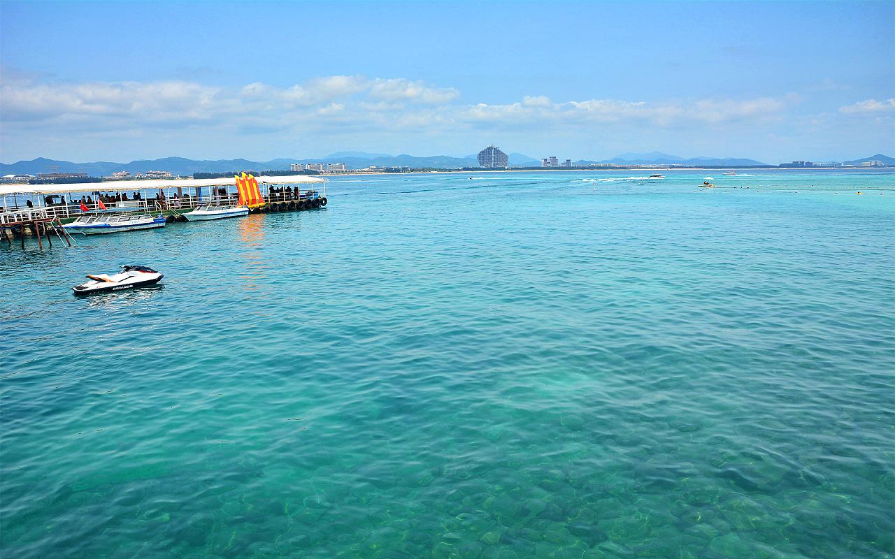 2015清明节三亚蜈支洲岛之旅
