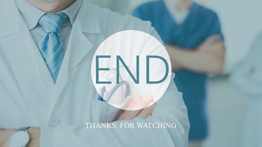 医疗卫生行业工作汇报ppt模板图片