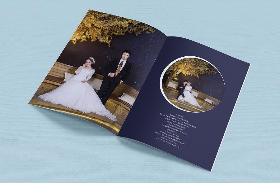 婚纱相册 排版_婚纱照排版设计欣赏图片