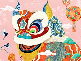 《醒狮》CC卡美珠宝海报Poster