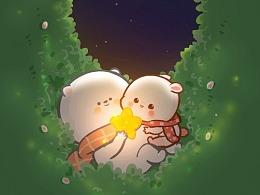 懒熊熊与兔蛮蛮4