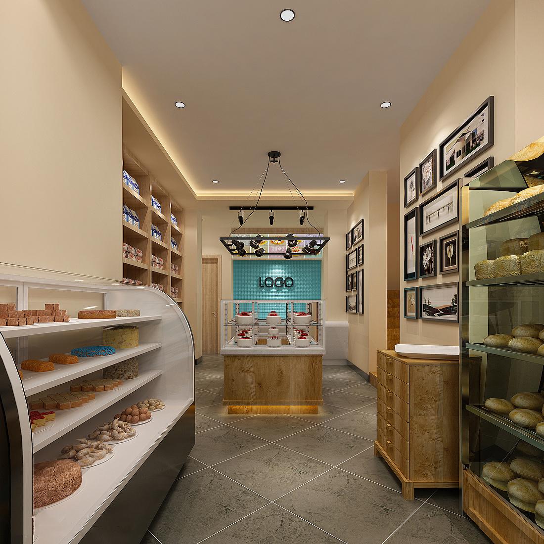 成都蛋糕店怎样装修设计|空间|室内设计|jinbiao9898