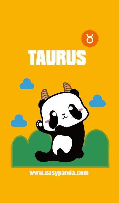 憨仔熊猫星座系列手机壁纸 单幅漫画 动漫 sevennes