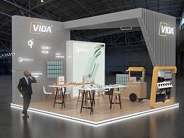 VIDA香港展设计