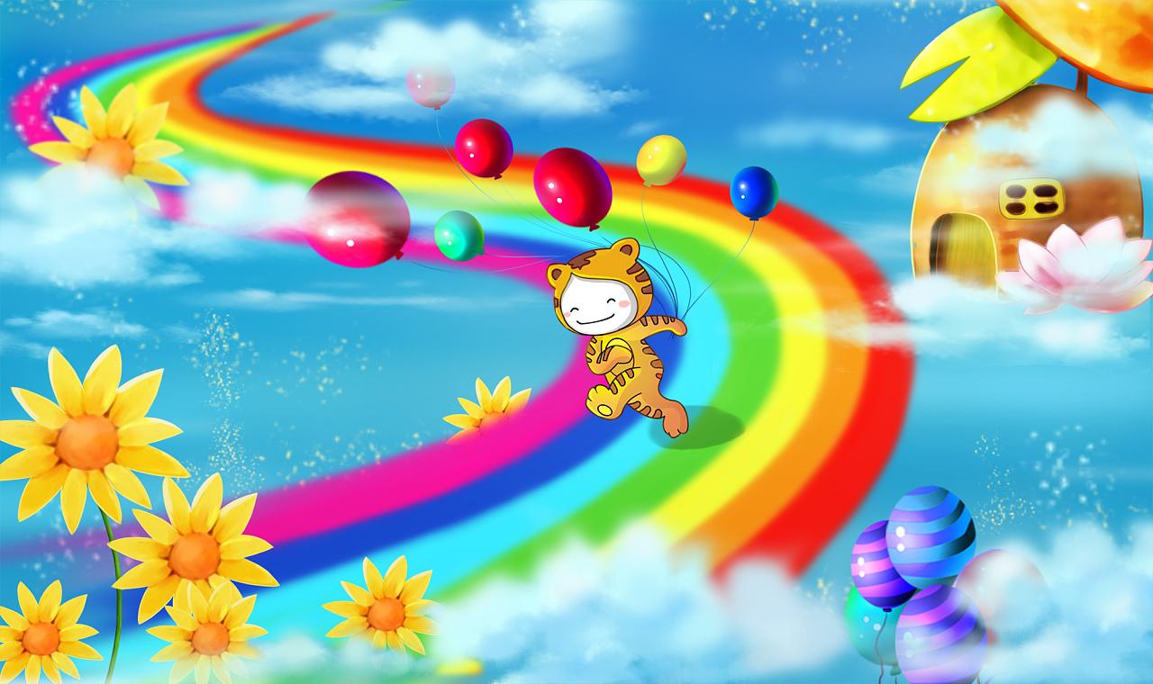 彩虹梦想图片